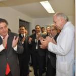 """El ministro Collia inauguró obras en el hospital """"Cetrángolo"""" de Vicente López"""
